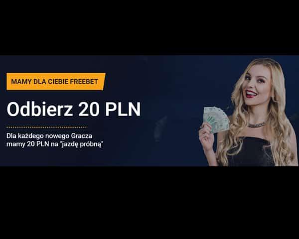 20 zł freebet w STS