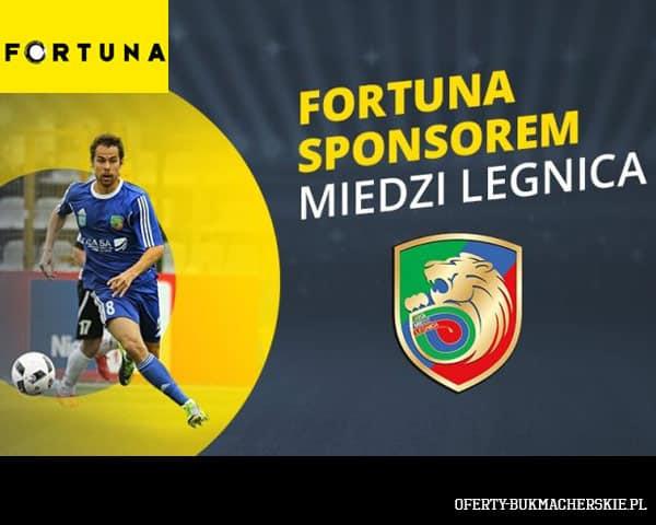 Fortuna sponsorem Miedzi Legnica