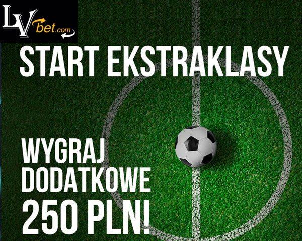 Startuje Ekstraklasa w LvBet