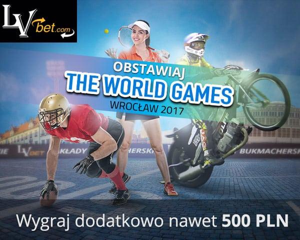 LVBET - Obstawiaj The World Games
