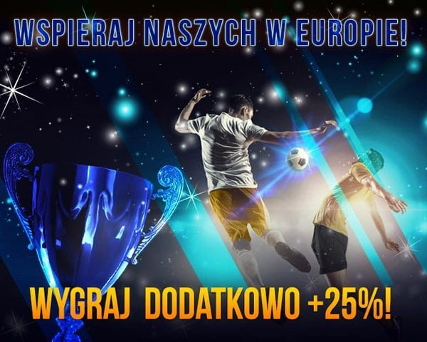 Wspieraj polskie kluby w rozgrywkach europejskich
