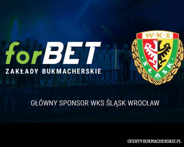 forBet sponsorem Śląska Wrocław