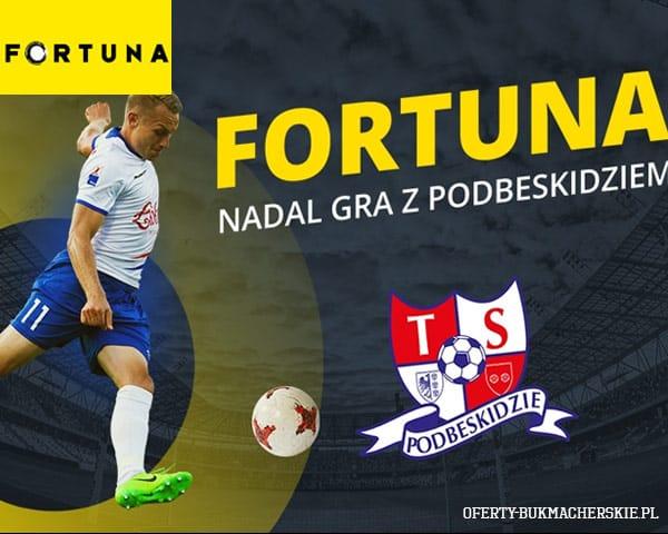 Fortuna nadal sponsorem Podbeskidzia