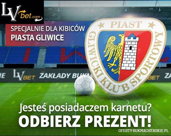 LVBET sponsorem Piasta Gliwice