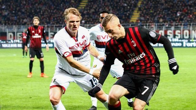 22.10 Serie A, AC Milan - Genoa CFC