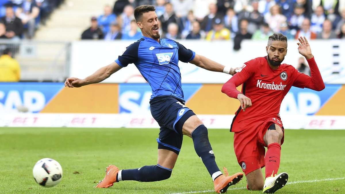 Bundesliga - TSG Hoffenheim - Eintracht Frankfurt