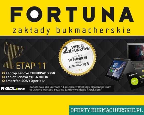 Mistrzostwa Typerów bukmachera Fortuna etap listopadowy!