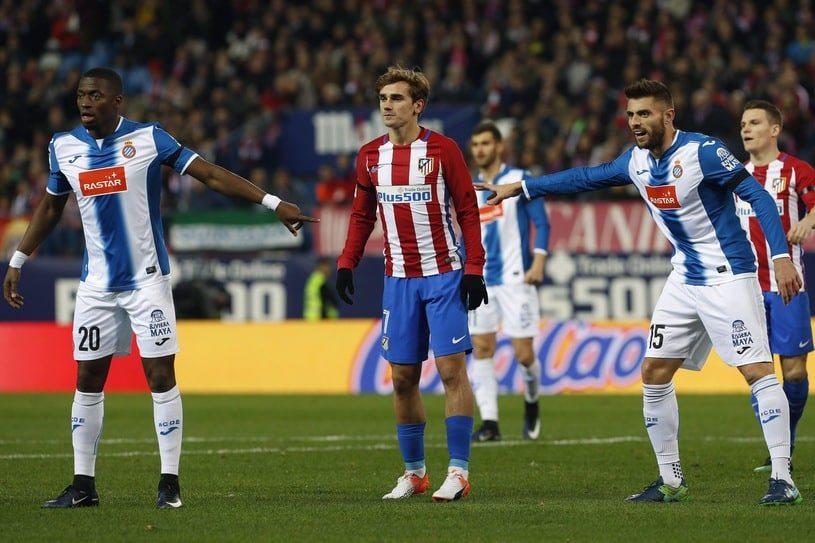 22.12 La Liga - Espanyol Barcelona - Atletico Madryt