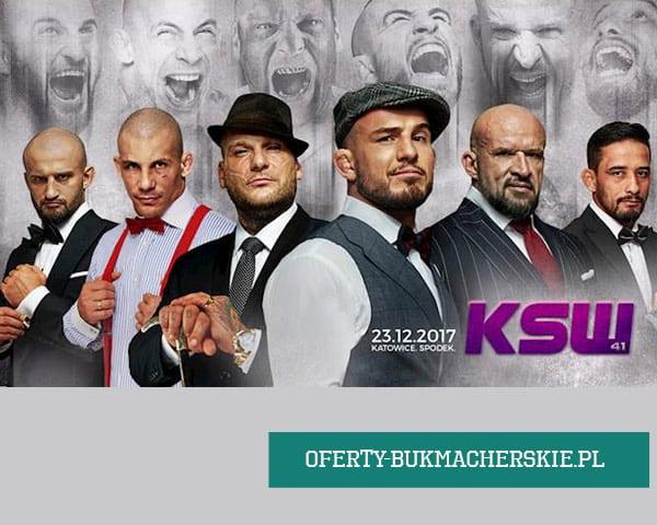 KSW 41 kursy bukmacherskie.