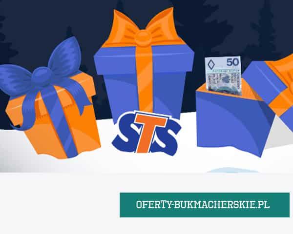 Tylko dziś 22-go grudnia do 50 PLN bonusa od zakładów bukmacherskich STS.