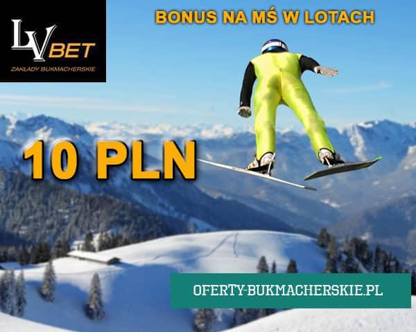 Bonus w LVBET na MŚ w lotach narciarskich
