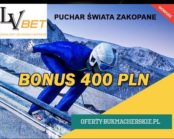 Puchar Świata w Zakopanem - Zgarnij Bonus 400 zł