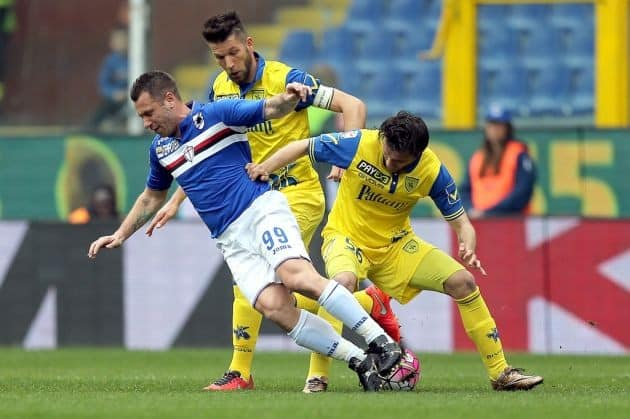 Chievo vs Sampdoria