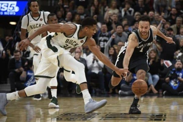 Milwaukee Bucks vs San Antonio Spurs