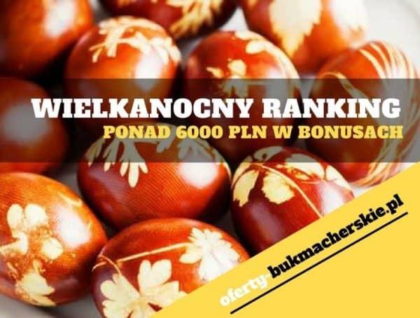 Wielkanocny Ranking w ForBET – ponad 6000 PLN w bonusach