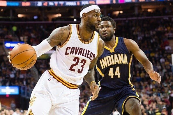 Cleveland Cavaliers vs Indiana Pacers