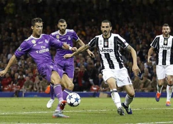 Real Madryt vs Juventus Turyn