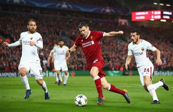 Poznaj typy piłkarskie na spotkanie AS Roma vs FC Liverpool!