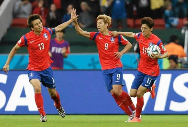 Korea Południowa vs Honduras