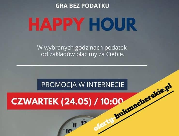Happy Hours w Milenium, możesz grać bez podatku.