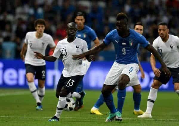 Francja vs Włochy
