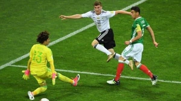 Niemcy vs Meksyk