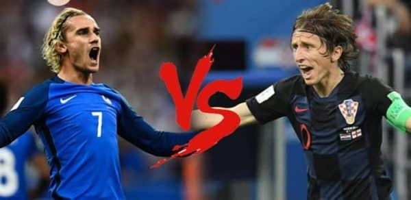 Francja vs Chorwacja
