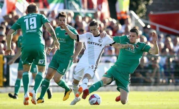 Poznaj typy piłkarskie na spotkanie Legia Warszawa – Cork City!