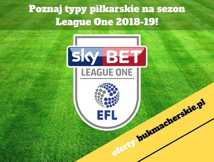 Poznaj typy piłkarskie na sezon League One 2018-19!