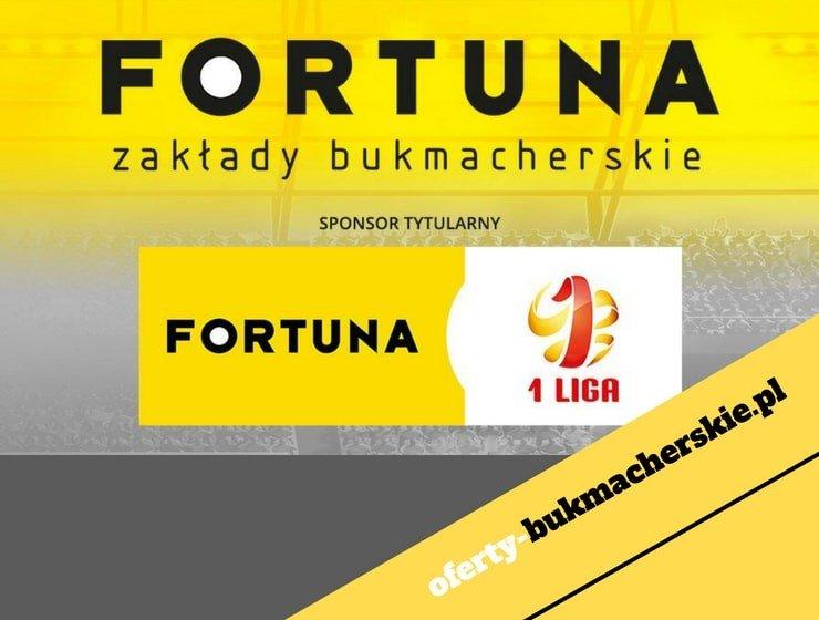 Fortuna zostaje sponsorem tytularnym 1 ligi