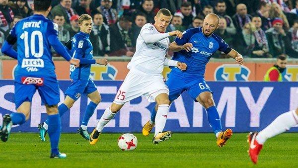 Lech Poznań gra z Górnikiem w Ekstraklasie