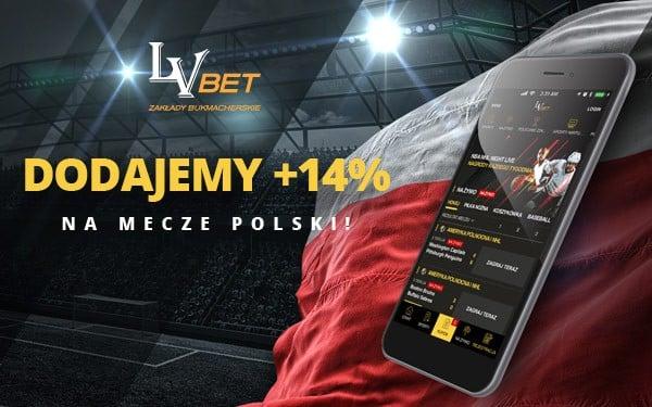Promocja LVBet na mecze Polski