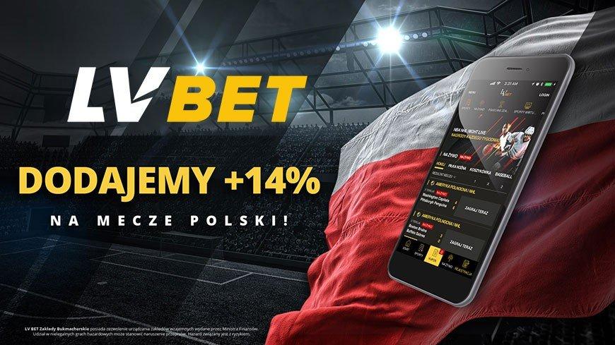Promocja z 14% więcej wygranych w aplikacji LVbet!